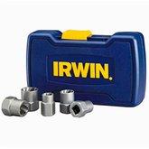 Conjunto Extrator de Parafusos e Porcas Bolt-Grip com 5 Peças - IRWIN-394001