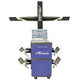Alinhador de Direção 3D com Gabinete Azul e Kit Informática - MAQUINAS RIBEIRO-MR9000-A