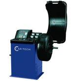 Balanceadora de Rodas Motorizada Azul - CAR-TECH-CT-450