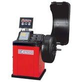 Balanceadora de Rodas Monofásica de Acionamento Motorizado Vermelho - CAR-TECH-CT-485