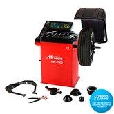 Balanceadora de Rodas Motorizada Vermelho  Monofásica - MAQUINAS RIBEIRO-MR7000V
