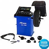 Balanceadora de Rodas Motorizada Azul  - MAQUINAS RIBEIRO-MR7000A