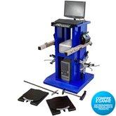 Alinhador de Direção Digital Wi-Fi à Laser Dianteiro com Rack Azul - MAQUINAS RIBEIRO-MRDIGITALDWIFIA