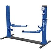 Elevador Azul 2,6 Toneladas Monofásico Lubrificação Automática a Óleo - ENGECASS-ECO2600