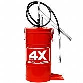 Bomba Manual para Graxa 14Kg Vermelho - HYDRONLUBZ-8485