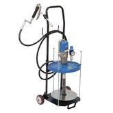 Propulsora Pneumática para Graxa com Carrinho e Acessórios - BOZZA-11030-G2