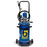 Propulsora Pneumática para Graxa com Reservatório de 14 kg - 11015-G2 - BOZZA-11015-G2