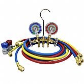 Manifold de 2 Vias com Válvula Pistão Ar Condicionado Automotivo - MASTERCOOL-66672-MR