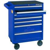 Carrinho Metálico Azul com 7 Gavetas - KINGTONY-87434-7B-B