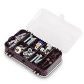 Estojo Organizador Mini Double Case 7 Pol.  - ARQPLAST-25396
