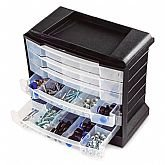 Organizador Multiuso de Plástico 295 x 170 x 267mm - ARQPLAST-25387