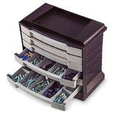 Organizador Multiuso de Plástico Prata 295 x 170 x 267mm - ARQPLAST-25385