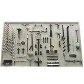 Painel para Ferramentas 1820 x 1000mm com 78 Peças e 57 Suportes - CRFERRAMENTAS-CR-11018-PLUS
