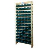 Estante Gaveteiro Organizador com 60 Gavetas Número 3 Cor Azul - FORTG-102877