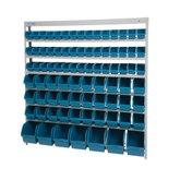 Estante Porta Componentes com 82 Caixas Azuis - MARCON-EM82A