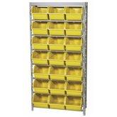 Estante Porta Componentes 21 Caixas Nr. 7 Cor Amarela - MARCON-EF21/7AM