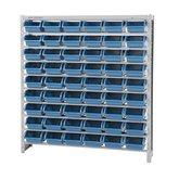 Estante Porta Componentes com 54 Caixas Azuis Nr. 5 - MARCON-EF54/5A