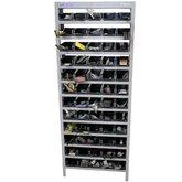 Estante Porta-Componentes com 60 Caixas Pretas N° 3 - MARCON-EP60/3P