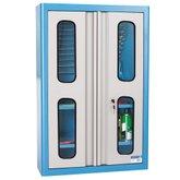 Armário de Parede para Ferramentas com Visor de Vidro e Prateleiras - MARCON-AM-45