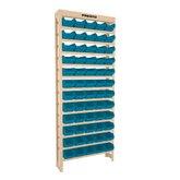 Estante Gaveteiros com 60 Caixas Nº03 Azul - PRESTO-ESTANT60/3