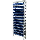 Estante Gaveteiros com 60 Caixas Azul N° 03 - Sonelma-EP60/3-AZ