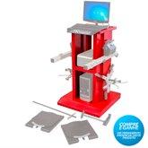 Rack Vermelho para Alinhador Direção Digital à Laser - MAQUINAS RIBEIRO-RK