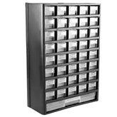 Organizador Multiuso Plástico 12 Pol. com 41 Gavetas - BLACK JACK-MJ-2047