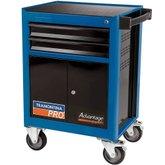 Carro para Ferramentas Azul com 2 Gavetas e 2 Portas - TRAMONTINA PRO-44950206