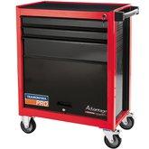 Carro para Ferramentas Vermelho com 3 Gavetas e 1 Porta - TRAMONTINA PRO-44950308