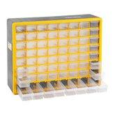 Organizador Plástico com 64 Gavetas OPV 310 - VONDER-6108310000