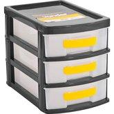 Organizador Plástico com 3 Gavetas OPV 0003  - VONDER-6199030000