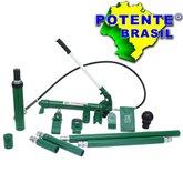 Esticador Hidráulico 10 Toneladas com Maleta - POTENTE BRASIL-01.16.EST10PI