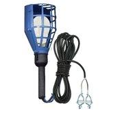 Pendente de Luz Tipo Gaiola de Plástico com Garra Jacaré e Lâmpada 12V 40W - ESTAMPARIA PAULISTA-K-012