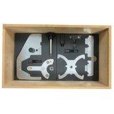 Kit de ferramentas para Sincronismo dos Veículos Volvo T4 e T5 Motores 1.6 e 2.0 - CRFERRAMENTAS-CR395-KIT