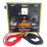 Carregador de Baterias Portátil de Cargas Lentas 15A 72V - MEGA-MEGACL06B15A