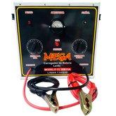 Carregador de Baterias Portátil de Cargas Lentas 15A 240V 110/220V - MEGA-MEGACL20B15A