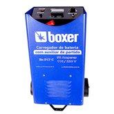 Carregador de Bateria com Auxiliar de Partida 50 Amp Bivolt - BOXER-BX-517C