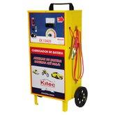 Carregador de Baterias 12V 35A com Carrinho  - KITEC-CK12A35C