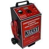 Carregador de Bateria Analógico Lento e Rápido 50A com Auxliar de Partida - KITEST-KA-078