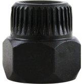 Soquete Especial Estriado e Sextavado para a Polia dos Alternadores Valeo e Bosch - RAVEN-108001