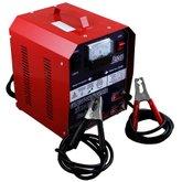 Carregador de Baterias Automotiva Rápido e Lento + Auxiliar de Partida 50A 12/24 V - REALBAT-CR524B