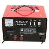 Carregador de Bateria 12/24V com Auxiliar de Partida 300A  - PLANATC-CBAS-450