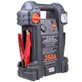 Auxiliar de Partida 350A 12 V com Compressor e Luz de Emergência Integrado - BLACKDECKER-JS350CC