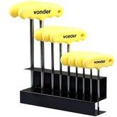 Jogo de Chave Torx Com 9 Peças T10 a T50 Com Cabo - VONDER- 3573100500