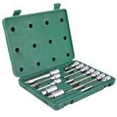 Jogo de Soquetes com Bits 1/2 Pol. com 12 Peças - SATA- ST09055SJ