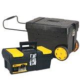Combo Armazenagem Caixa Contractor 53 Litros + Caixa de Ferramentas 13 Pol. - STANLEY-STKIT302713013