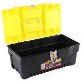 Caixa de Ferramentas Plástica 16 Pol. - BLACK JACK-E093