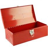 Caixa Metálica Vermelha 14 Pol. - BLACK JACK-E195