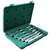 Jogo de Chaves Combinadas em Milímetros com Soquete Flexível com 6 Peças - SATA-ST09037SJ