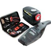 Kit de Ferramentas com 13 peças + Aspirador 12V + Compressor 12V - SCHULZ-920.1281-0